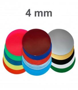 Placa 4 mm EVA Colorida Ø 125mm Erkoflex - Erkodent
