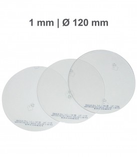 Placa Erkoloc-pro, PETG-TPU, Ø 120 mm, 1,0 mm, Transparente - Erkodent
