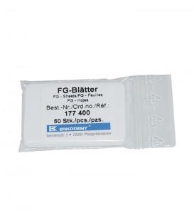 Folha FG p/ polimento de placas termoformáveis - Erkodent